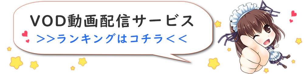 動画配信サービスランキング